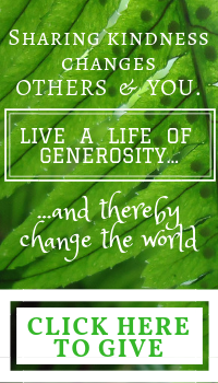 Sharing Kindness Changes the World. Click here to give.
